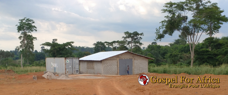 Gospel For Africa Brick-Making Building Completed