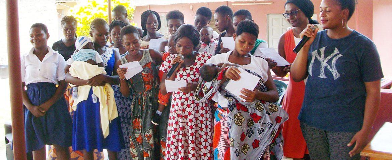 Serving Unwed Teen Mothers in West Africa.