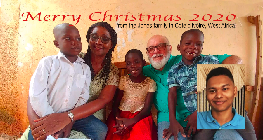 Jones Family Merry Christmas 2020
